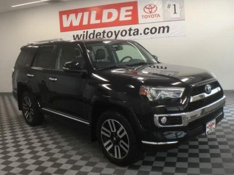New 2017 Toyota 4Runner Limited Sport Utility 4WD
