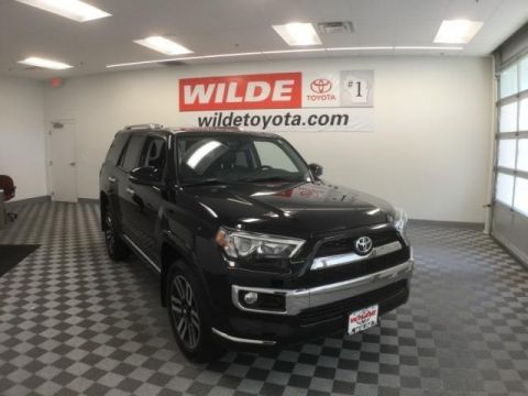 New 2017 Toyota 4Runner Limited-AWD Sport Utility 4WD