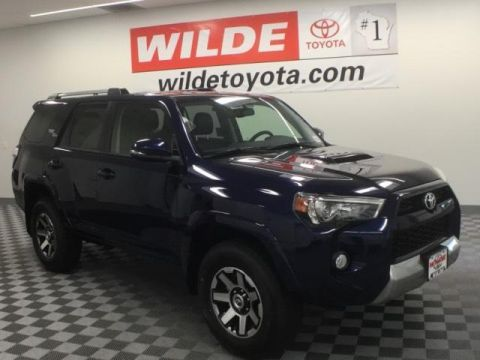 New 2017 Toyota 4Runner TRD Off Road Premium Sport Utility 4WD